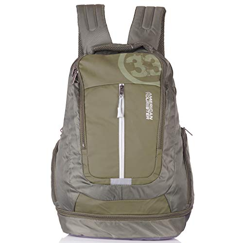 American Tourister Snap02 Plus Laptop Backpack (Olive)