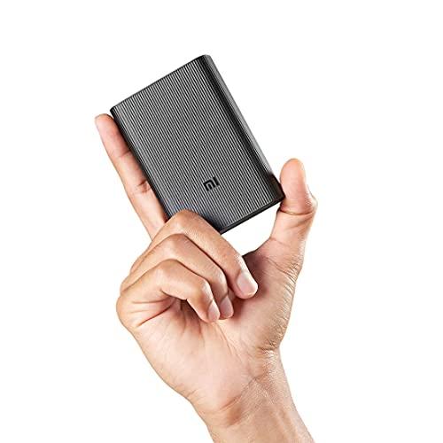 Mi Pocket Power Bank Pro Black 10000mAh | Triple Output and Dual Input Port | 22.5W Ultra Fast...
