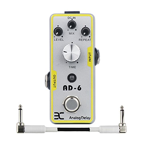 ENO EX Guitar Analog Delay Effect Pedal True Bypass & Effect Pedal Cable Guitar Parts and Accessories