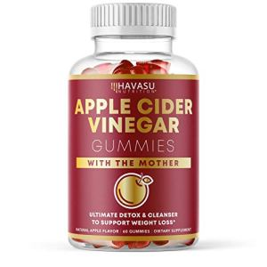 Havasu Nutrition Apple Cider Vinegar Gummies for Detox Cleanse & Belly Control; Organic ACV with Mother Enzyme; 60… 1 - My Weight Loss Today
