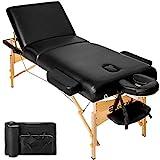 TecTake Table Lit de Massage Pliante Portable - diverses couleurs au choix...