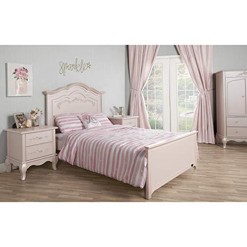 Product Image 8: Evolur Aurora 5-in-1 Convertible Crib, Blush Pink Pearl