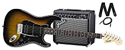 Squier by Fender Stratocaster Electric Guitar Pack Review