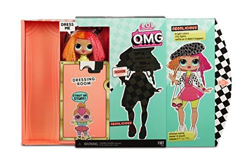 Image 5 - MGA- Poupée-Mannequin L.O.L O.M.G. Neonlicious avec 20 Surprises Toy, 560579, Multicolore