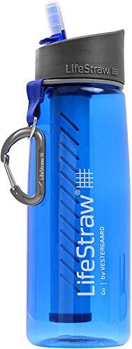 LifeStraw Go filtre d'eau bouteille avec paille de filtre intégrée....