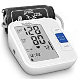 Blood Pressure Monitor Upper Arm by Alcedo| Automatic Digital BP Machine with Wide-Range Cuff for Home Use | Large Screen, 2x120 Memory, Talking Function | Case and Batteries Included FDA Approved