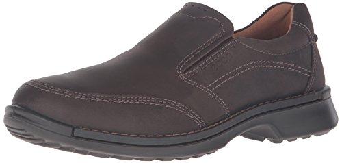 ECCO Men's Fusion II Slip On Casual Loafer Slip-On, Coffee Oil Nubuck, 46 EU/12-12.5 M US