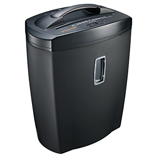 Bonsaii DocShred 8-Sheet High-Serurity Micro-Cut Paper/CD/Credit Card Shredder with Large 5.5 Gallon Wastebasket Capacity and Transparent Window C156-C