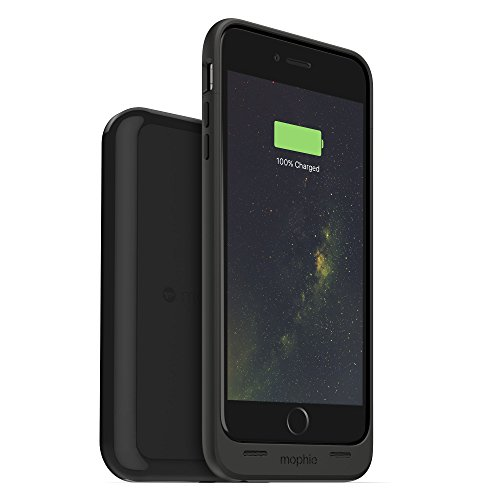 mophie Juice Pack Wireless & Charging Base for iPhone 6 Plus, iPhone 6S Plus - Retail Packaging - Black
