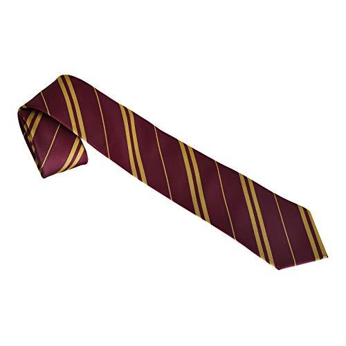 Harry Potter Cravatta Grifondoro Foresta Elba Rosso Giallo 135 cm