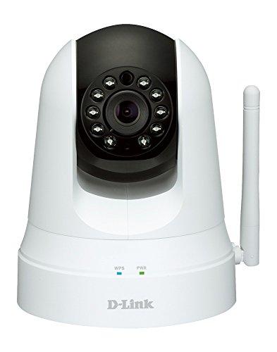 Product Image 1: D-Link DCS-5020L Videocamera di Sorveglianza Wireless N, Funzionalità Range Extender, Motorizzata, Rilevatore di Movimenti e Suoni, VGA + Repeater