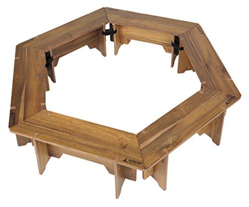 キャプテンスタッグ CSクラシックス ヘキサグリルテーブルセット