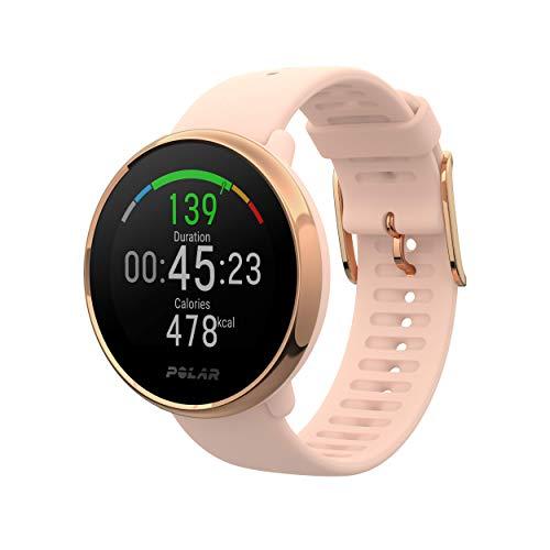 Polar Unisex– Erwachsene Ignite GPS-Fitnessuhr, pink-rosé, S