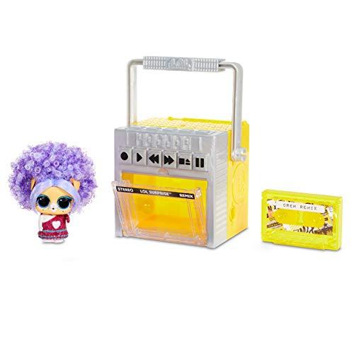 Image 1 - LOL Surprise Remix Animaux de Compagnie - A Collectionner- 9 Surprises avec Vrais Cheveux, Accessories & Paroles de Chanson Surprise