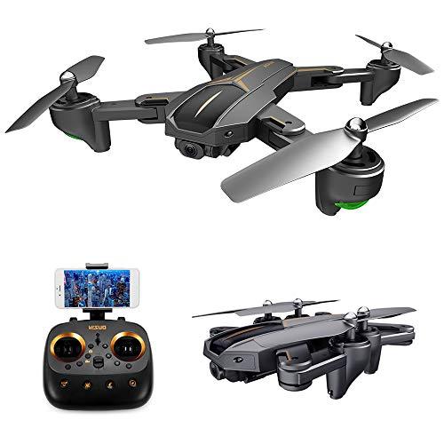 Goolsky Drone VISUO XS812 con videocamera GPS 4K grandangolo 5G WiFi FPV Drone Quadcopter Pieghevole