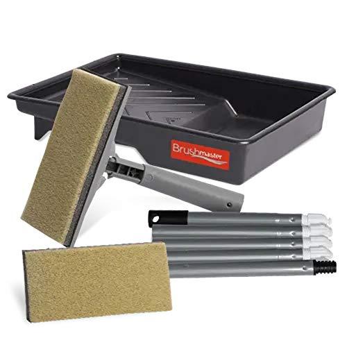 Brushmaster Floor Stain and Varnish Applicator Pad Kit