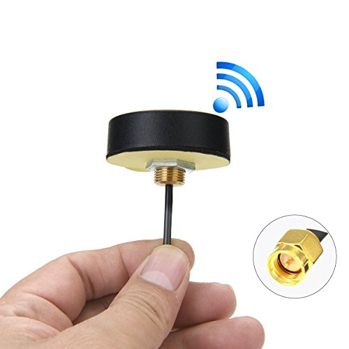 CHHLIUT GSM 2G 3G 4G Lte Antenna SMA Omni-Directional Outdoor Screw-Mount Antenna
