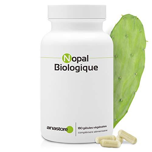 Biologisches Nopal * 470 mg/180 Kapseln * Zu mind. 40 % in Fasern titriert