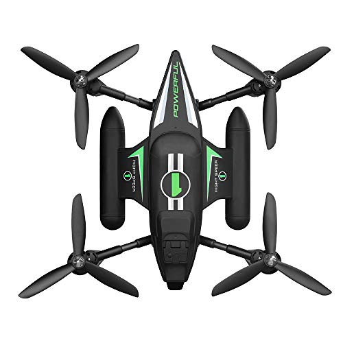 TOPQSC Waterproof Rc Quadcopter Drone 2.4G Headless Mode 3 in 1 Sea And Land And Air Triphibious Fly Ship