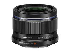 Olympus M.Zuiko Digital 25 mm f:1.8 - Objetivo para micro cuatro tercios (Diámetro de filtro 46 mm), negro
