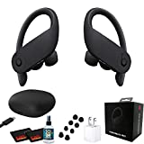 Beats by Dr. Dre Powerbeats Pro in-Ear Wireless Headphones (Black) Bundle - 9 Hours of Listening...