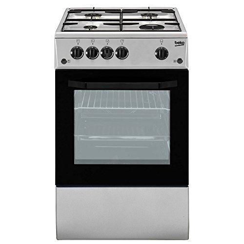 Beko CSG42011FS Libera installazione Piano cottura a gas Argento cucina
