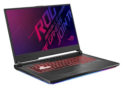 Asus ROG Strix G (2019) Gaming Laptop, 17.3 IPS Type FHD, NVIDIA GeForce GTX 1650, Intel Core i7-9750H, 16GB DDR4, 512GB PCIe Nvme SSD, RGB KB, Windows 10 Home, GL731GT-PH74