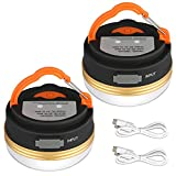 Yizhet Lanterne de Camping [2 Pack] lumières de Tente Rechargeable Batterie,...