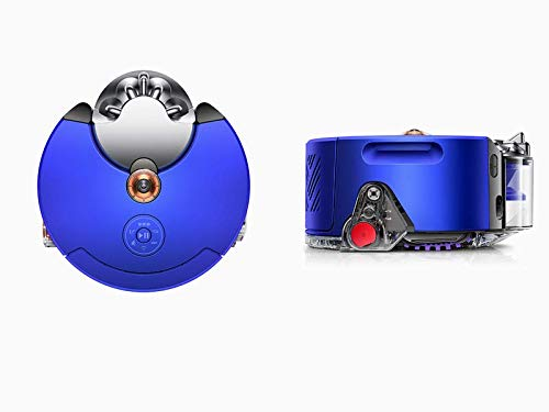 Dyson 360 Heurist aspiradora Robot (níquel Azul), aprende y se Adapta a tu hogar