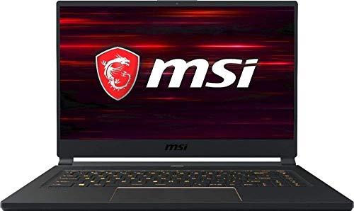 CUK MSI GS65 Stealth Thin Gaming Notebook (Intel i7-9750H, 32GB RAM, 512GB NVMe SSD, NVIDIA GeForce RTX 2060 6GB, 15.6' FHD 240Hz 3ms, Windows 10 Home) Gamer Laptop Computer w/ External DVD-ROM Drive