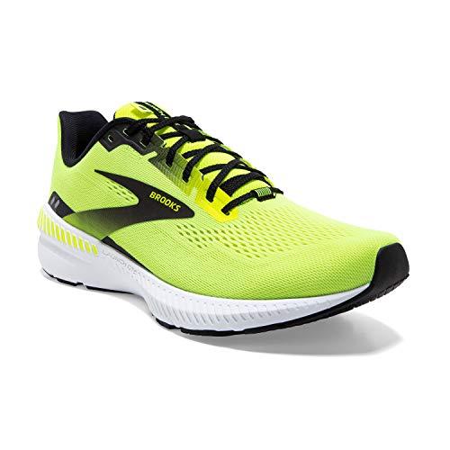 Brooks Men's Launch GTS 8 Running Shoe, Nightlife/Black/White, 8 UK