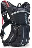 USWE Sports Airborne 3 - Mochila de hidratación con vejiga, Color Negro, 3 litros