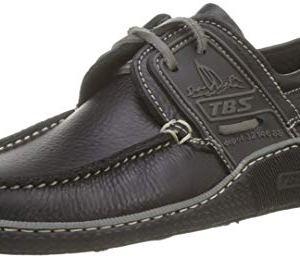 TBS Globek Loafers & Boat Shoes Men Black Boat Shoes Shoes