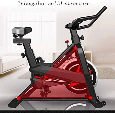 YFFSS Exercise Bikes, Ultra-Quiet Exercise Bike, Home Adjustable Exercise Pedal Spinning Bike, Professional Magnetic Control Indoor Weight Loss Exercise Fitness Equipment 4