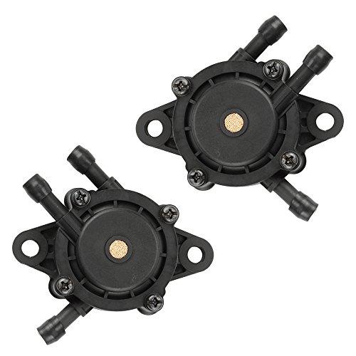 Hilom 2 Fuel Pumps for Kohler 24 393 04-S 24 393 16-S for BS 491922 691034 692313 808492 808656 for Honda 16700-Z0J-003 for Kawasaki 49040-7001