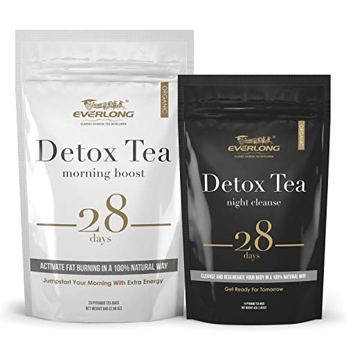 Detox Tea 28 Day Ultimate Teatox - Burn Fat and Boost Your Energy, Colon Cleanse, Activate Immune System and Accelerate Healthful Weight Loss - with Bonus Digital Welcome Guide 1