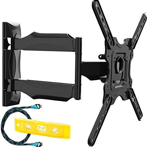 Invision Supporto TV Parete - per 24-55 pollici TV LED LCD, 4K HDR Schermi - Inclinazione e Girevole...