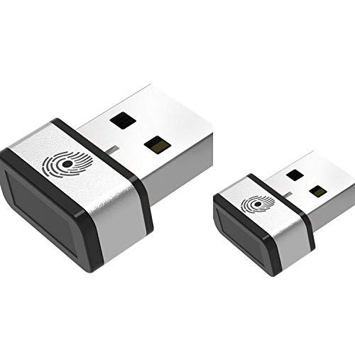 PQI My Lockey Mini USB Fingerprint Reader, 360 Touch Speedy...