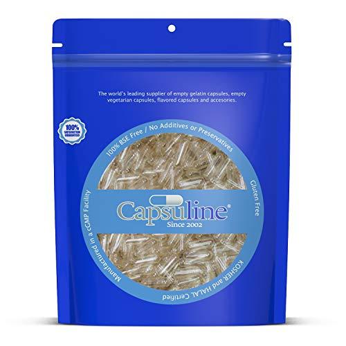 Capsule Gelatina Vuote Trasparenti Misura 00 diCapsuline - 5000 Capsule