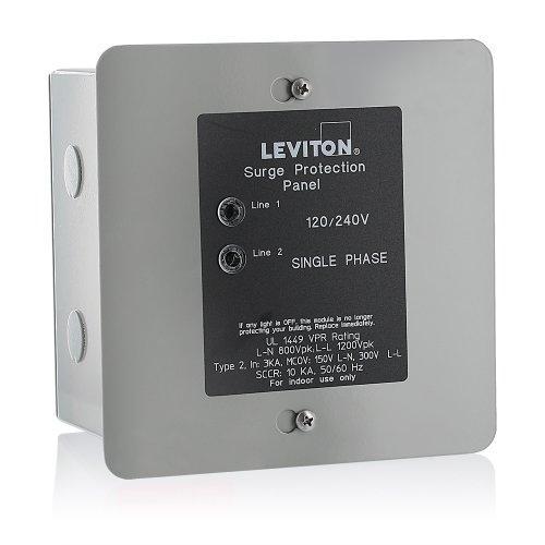 Leviton 51120-1 Panel Protector, 120/240-Volt