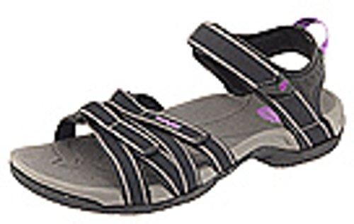 Teva Women's Tirra Sandal,Black/Grey,8 M US