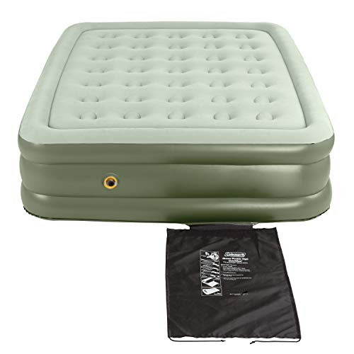 Coleman Air Mattress | Double-High SupportRest Air Bed for Indoor or Outdoor Use, Queen