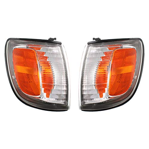 For Toyota 4Runner Parking Signal Light Assembly 1999 00 01 2002 Pair Driver and Passenger Side For TO2520157 | 81620-35340