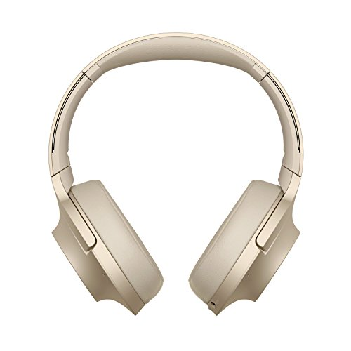 Sony WHH900N - Auriculares de Diadema Inalámbricos con Alexa integrada (H.Ear, Hi-Res Audio, Cancelación de Ruido, Sense Engine, Bluetooth, Compatible con Aplicación Headphones connect), Beige, U