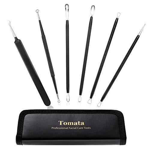 Blackhead Remover Pimple Popper Tool Kit - (6...