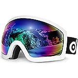 Odoland : Masque de Snowboard pour homme et femme, anti-UV