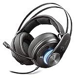 Im Kabel integrierte Fernbedienung mit Lautstärkeregelung, Mikrofonstummschaltung und Bassvibrationsregelung Konnektivität: Verkabelt, Bluetooth