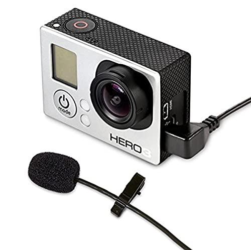 MXL mm 165gp Lavalier microfono per GoPro Nero