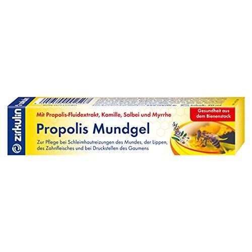 Zirkulin Naturheilmittel Propolis Mundgel, 1er Pack (1 x 20 ml)