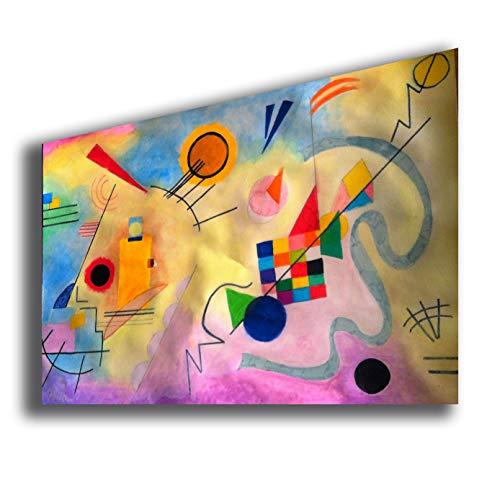 Quadro WASSILY KANDINSKY Untitled 2 - RIPRODUZIONE STAMPA SU TELA Quadri Moderni Moderno Arte...
